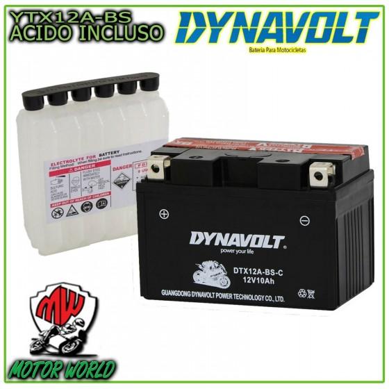 BATTERIA DYNAVOLT DTX12A-BS...