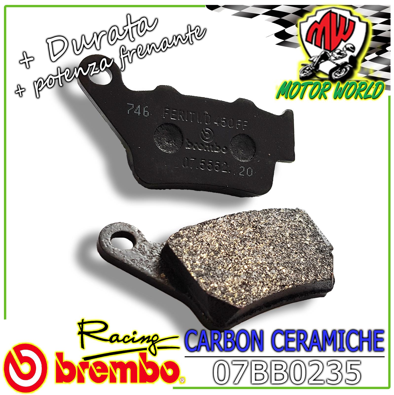 Pastiglie Freno Posteriore BREMBO Per KTM DUKE 690  2012 2013 2014 07BB0235
