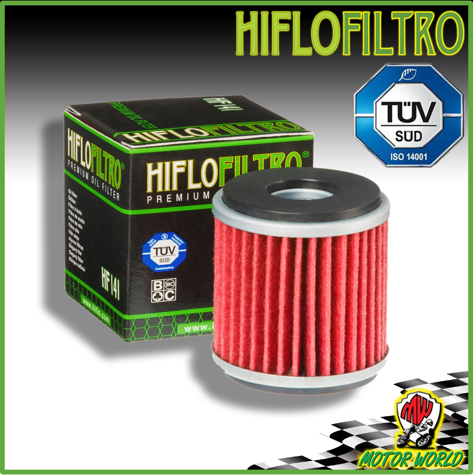 FILTRO OLIO MOTORE HIFLO HF141 PER YAMAHA WR 125 X 2015