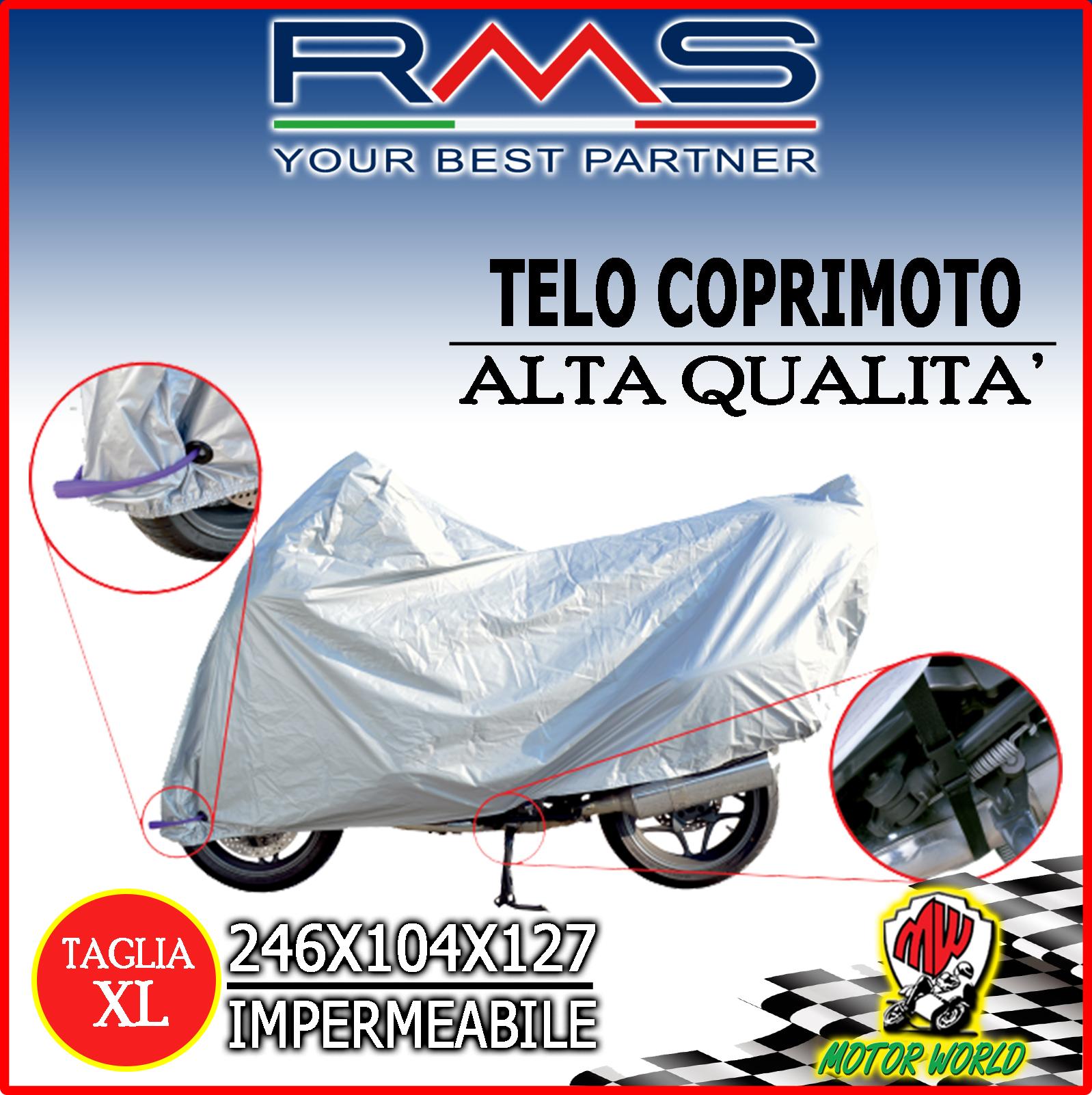 TELO MOTO SCOOTER COPRIMOTO IMPERMEABILE UNIVERSALE BMW R 1200 GS TG XL